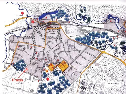Aumühle Stadtplan Straßenplan 2